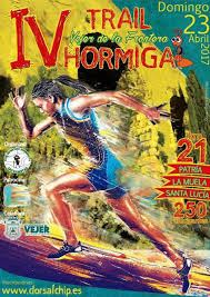 CARTEL TRAIL HORMIGA
