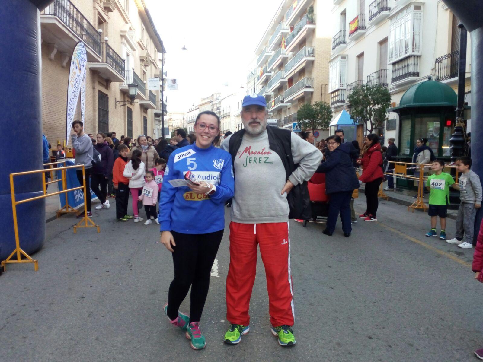 Juan Sánchez corrió en la Milla de Antequera y en el Cross La Victoria en Cordoba