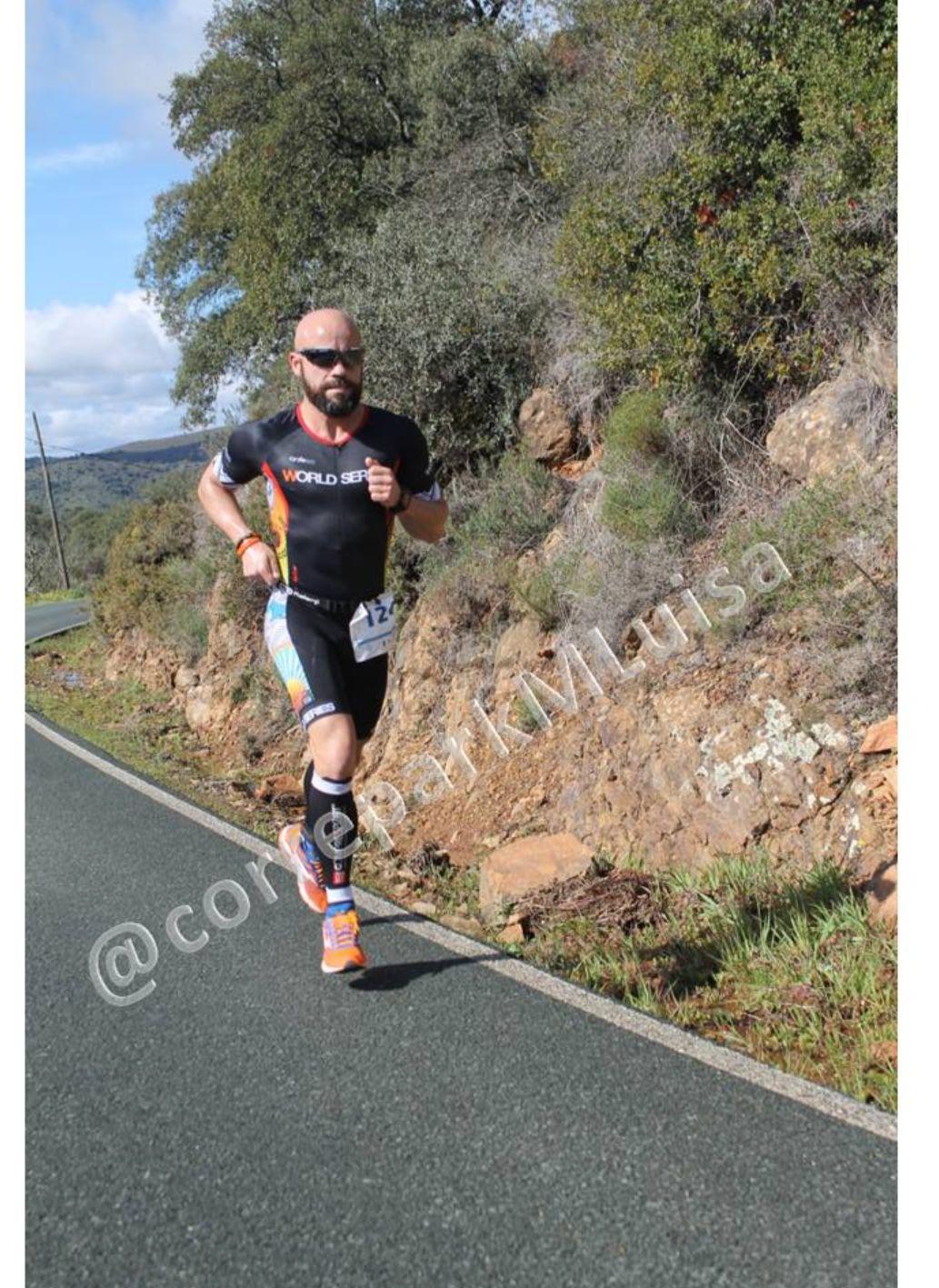 Excelente resultado de José Frutos en el «365 DxT Duatlón de Sevilla Sierra Norte»