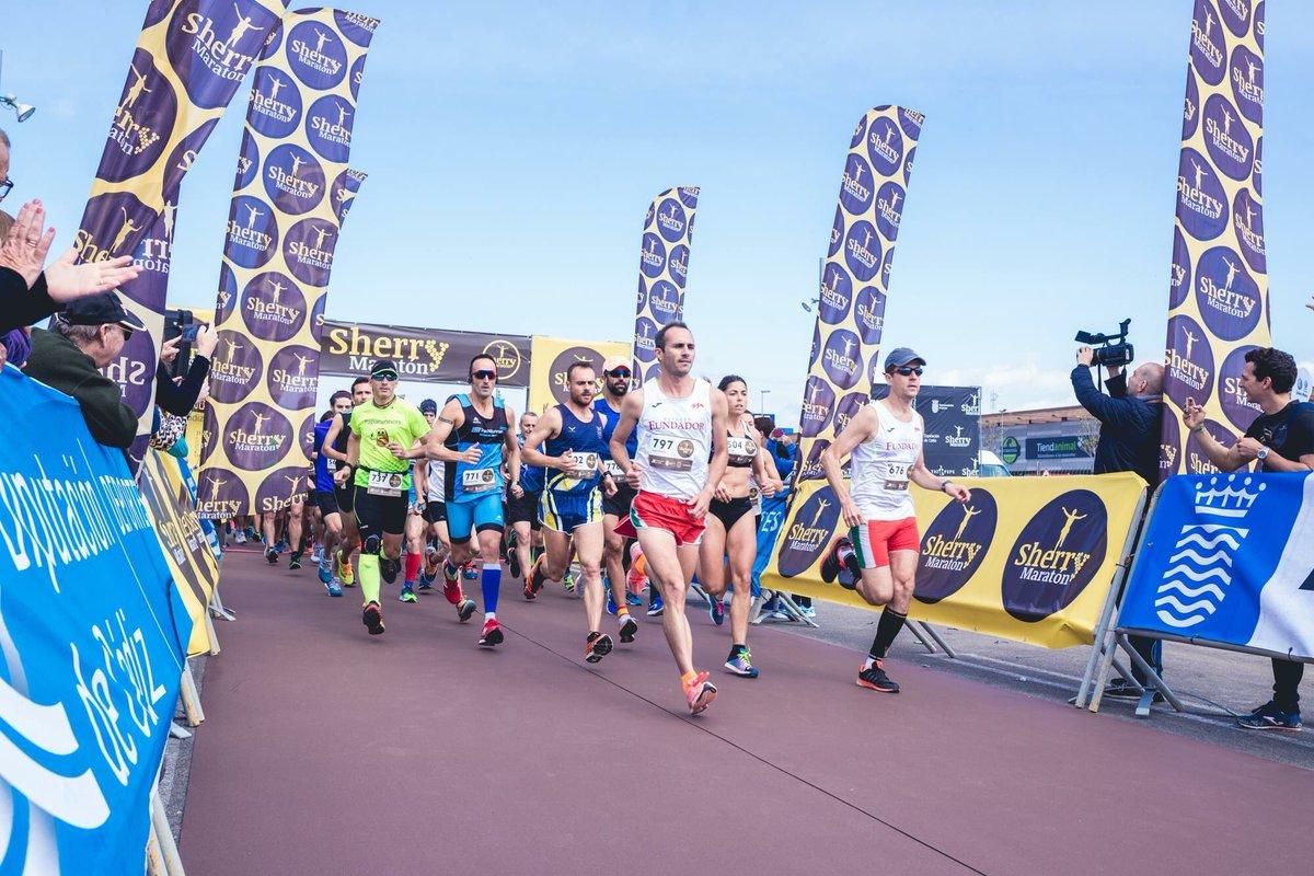 Equipo Fundador – A.D. Maratón Jerez en la II Sherry Maratón 2018