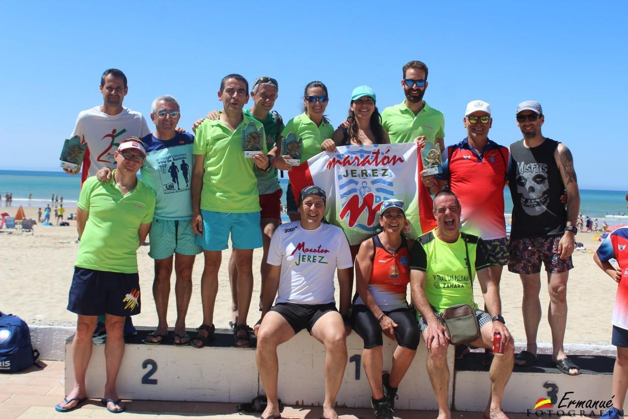 Cuatro pódiums en la «X Carrera Solidaria Villa de Barbate – Memorial Ricardo Bernal»