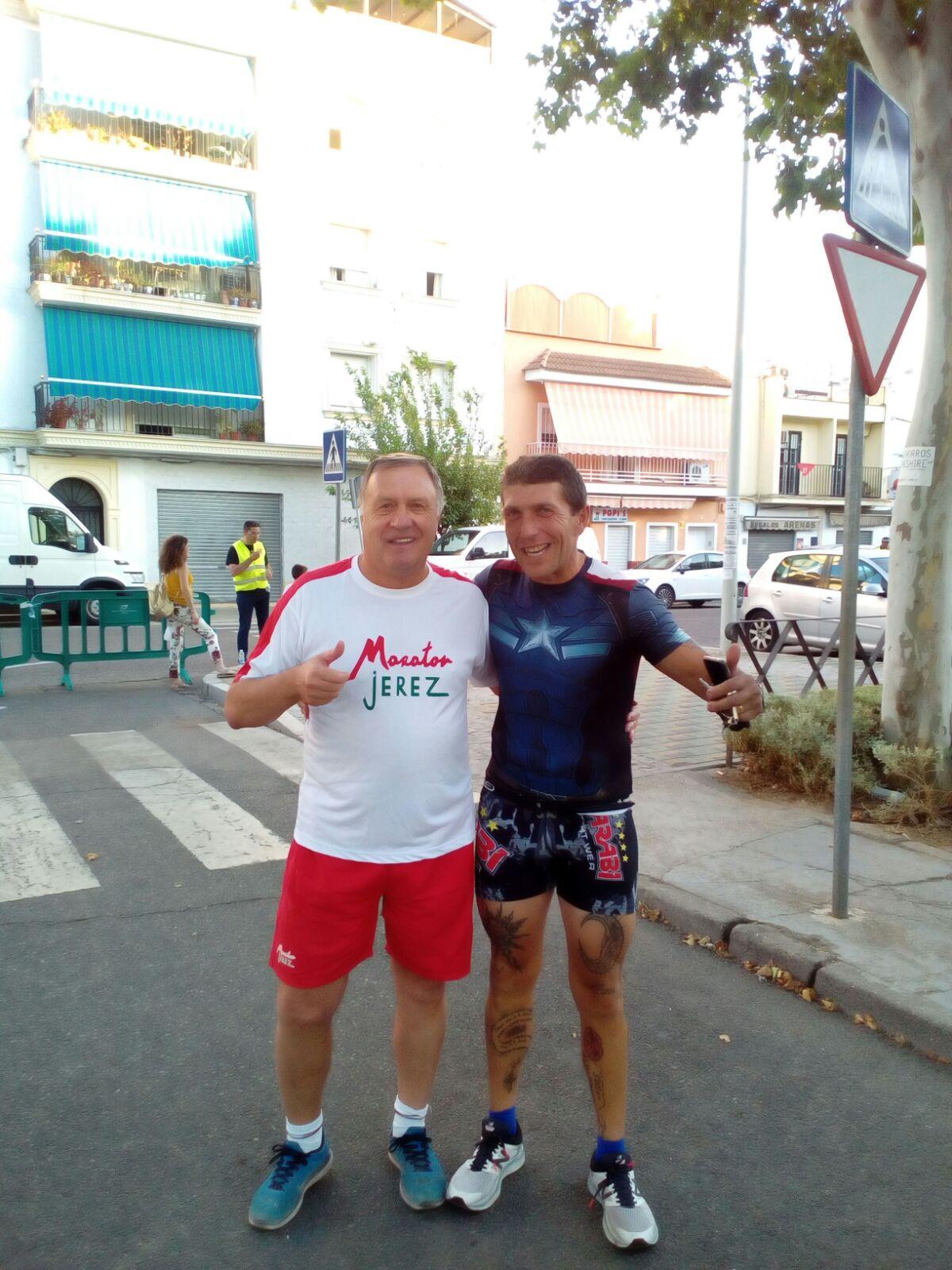 Otro doblete de Pedro Artajo, compitió  en la Provincia de Málaga y de Córdoba corriendo con otro monstruo Fernando Plaza