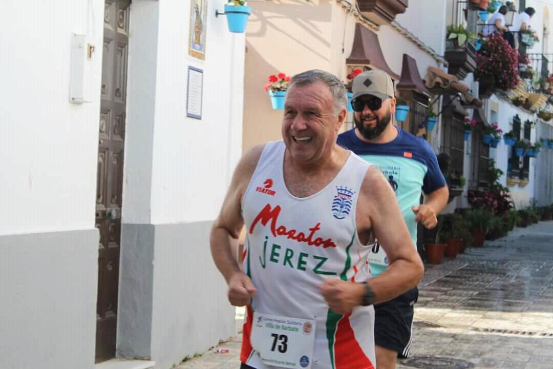 El incansable Pedro Artajo a participado en 10 Carreras Populares en 21 días