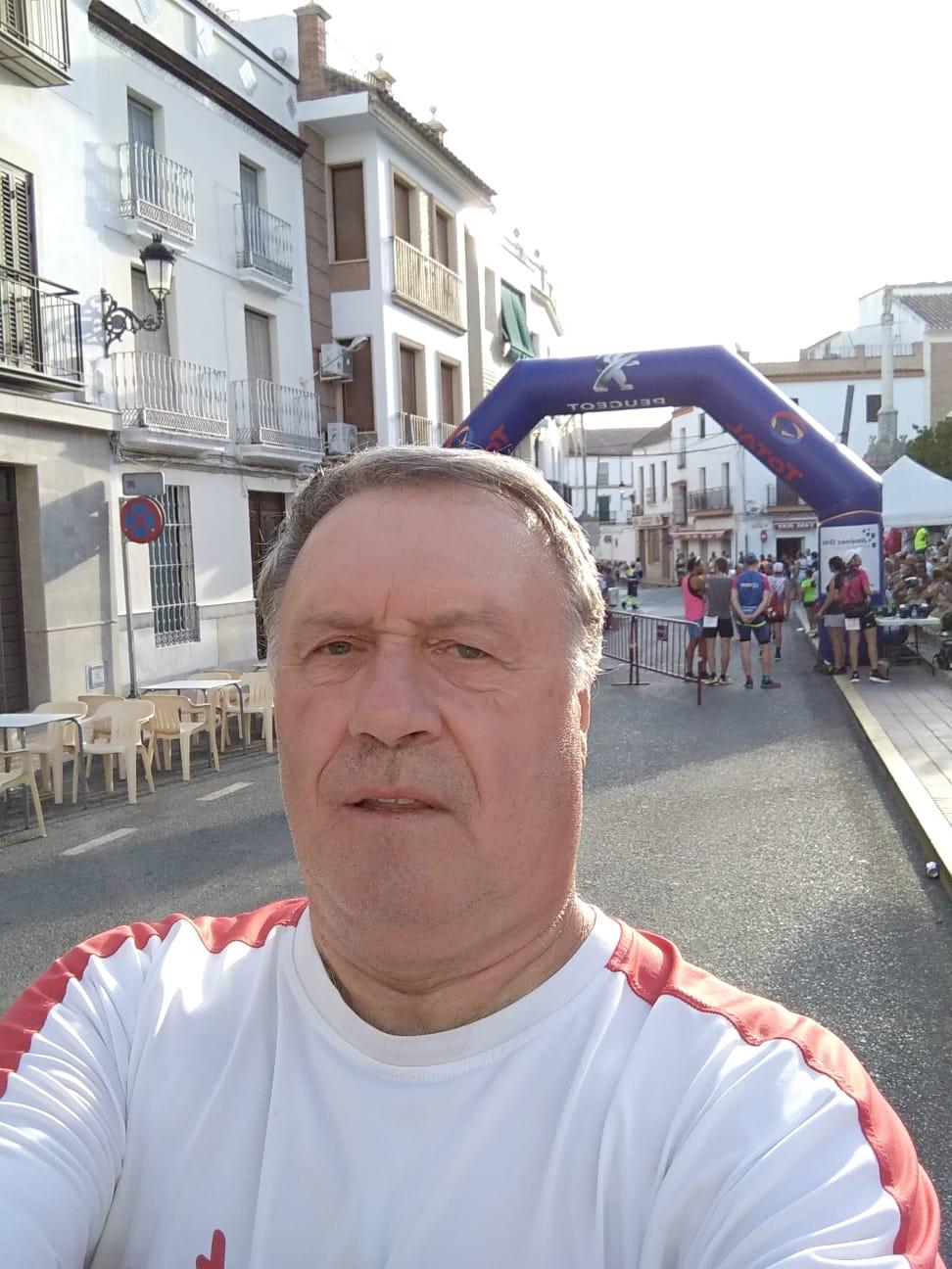 Pedro Artajo participo este fin de semana en la Carreras Populares de Fernán Núñez y Martos