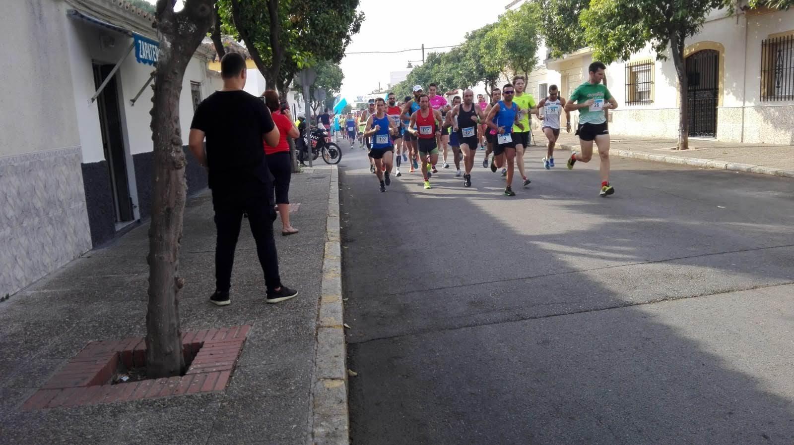 Justo Clavijo «3º» Absoluto y Pedro Artajo «3º» V/C en la «II Carrera Popular de Otoño»