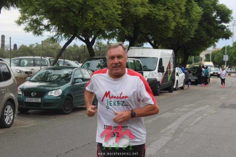 De nuevo Pedro Artajo en la brecha, participo en la «XIII Carrera Popular Día de Reyes» en Santaella