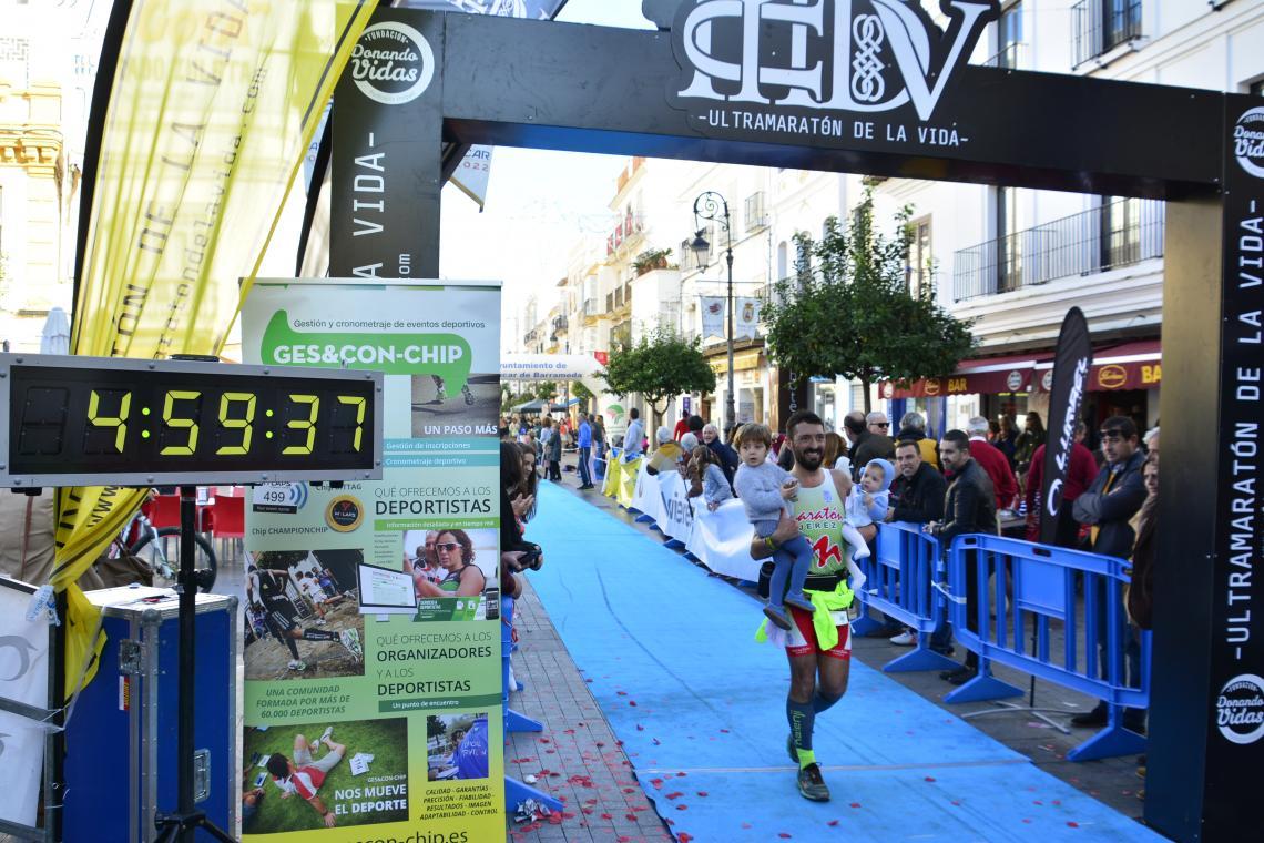 Excelentes tod@s los compañeros que participaron en el «III Ultramaraton de la Vida»