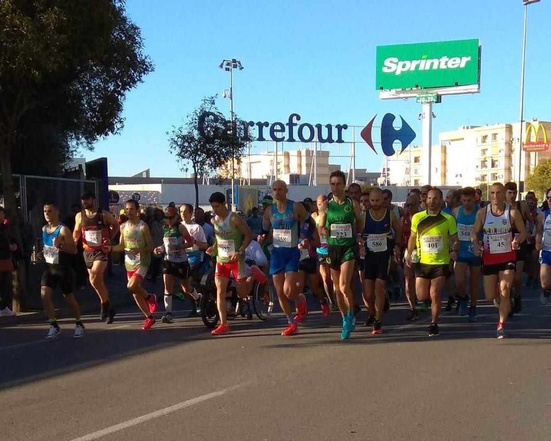 Rotundo éxito del A.D. Maratón Jerez con 9 podiums en la XXIII Media Maratón Ciudad de Jerez 2018.