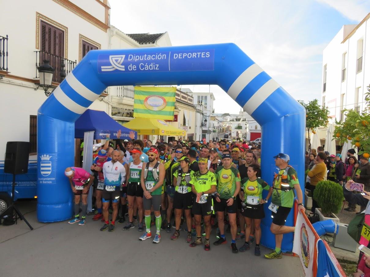 """Antonio S. Castañeda y José Benítez realizaron una buena carrera en el """"III Trail Pozo Los Moros"""