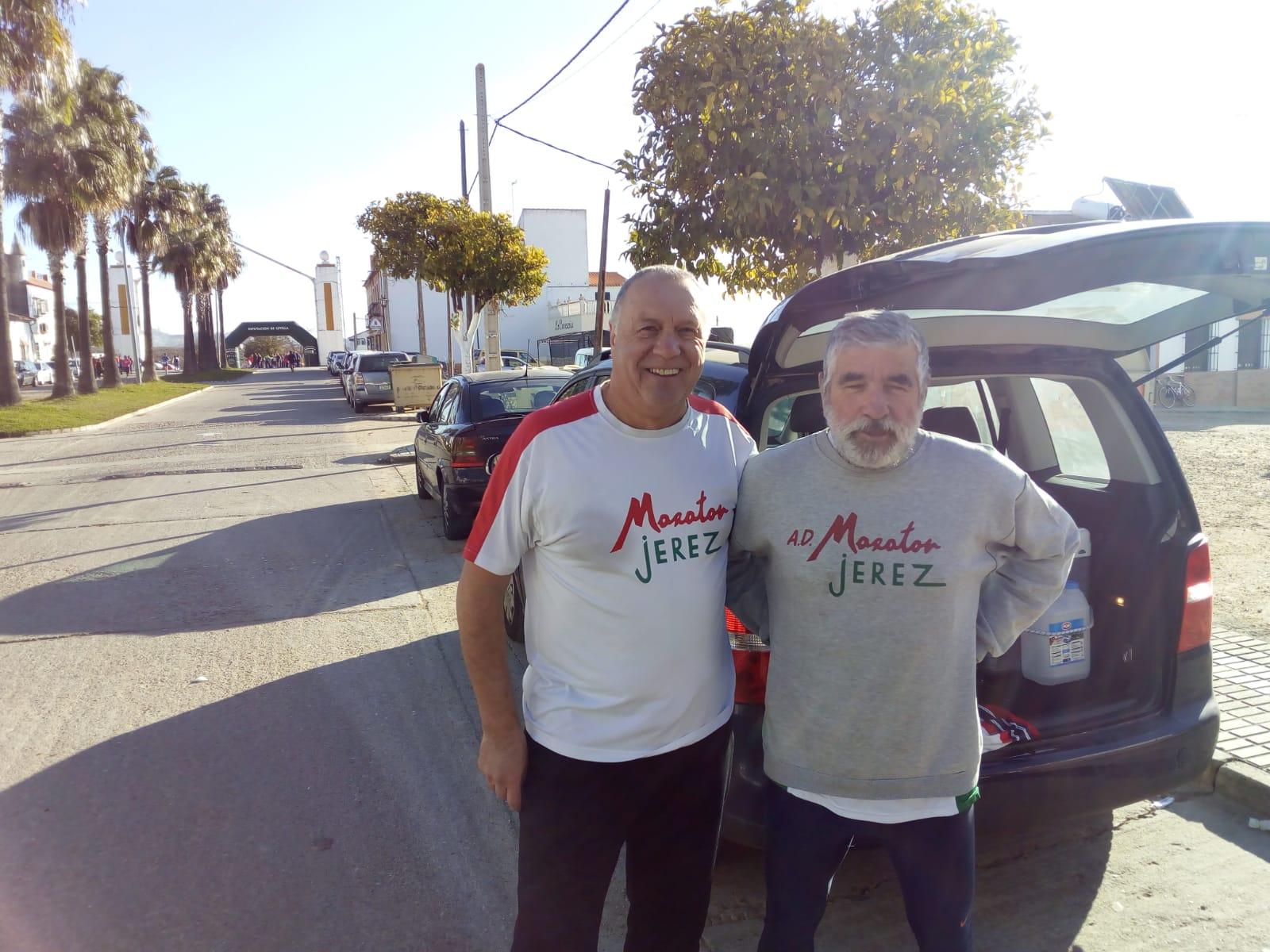 Pedro Artajo y Juan Sánchez participaron en el «IX Cross La Victoria» (Córdoba)