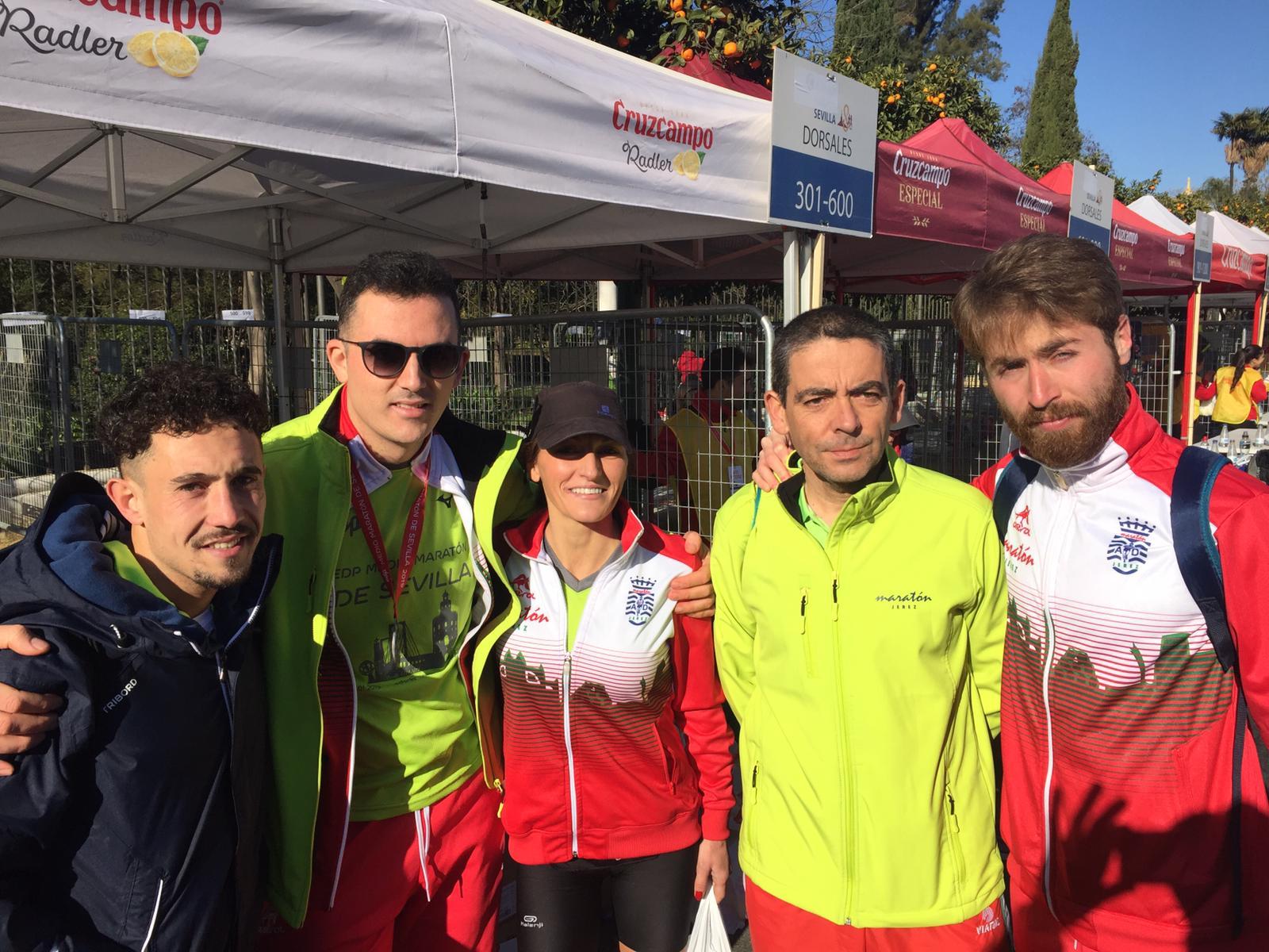 Muy bien Tod@s en la «XXIV EDP Media Maratón de Sevilla 2019»