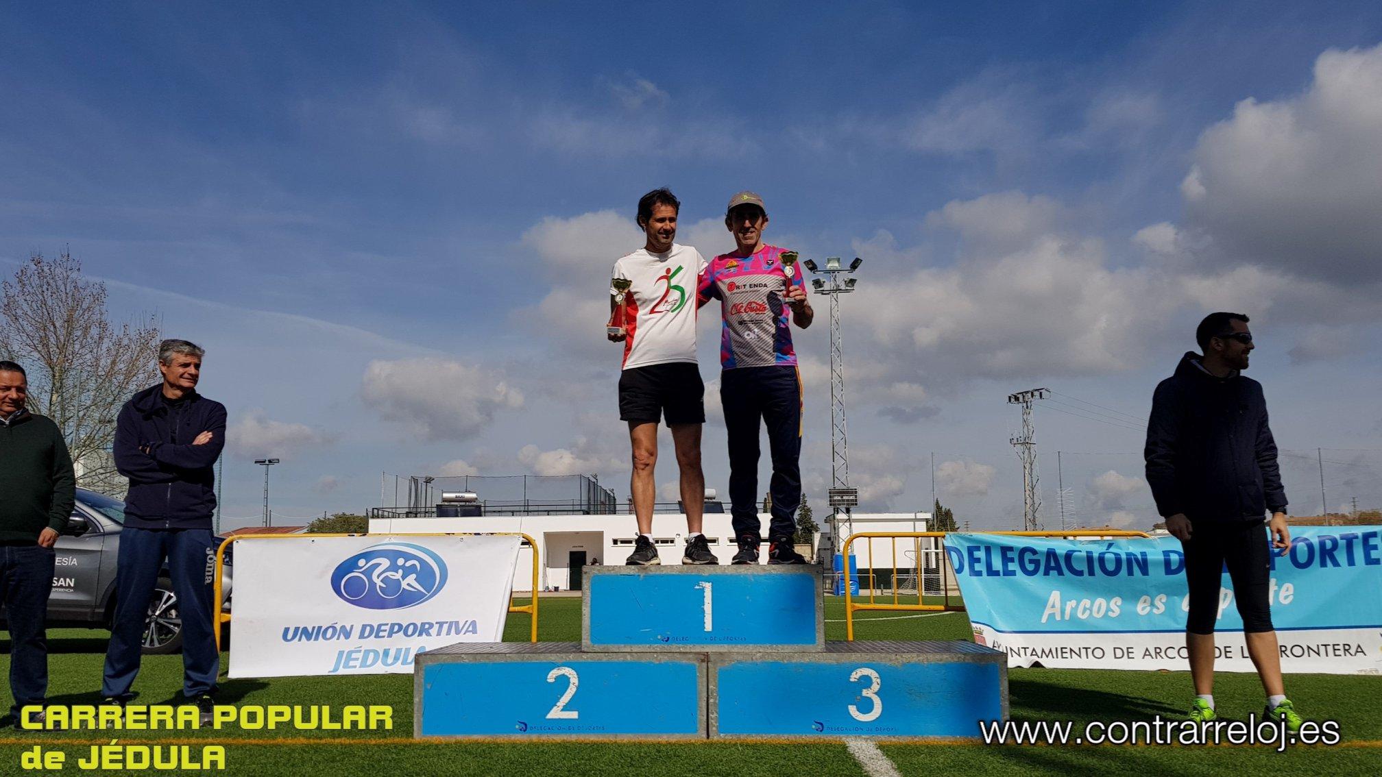 En la «Carrera Popular de Jedula» Antonio Armario venció en su categoría de V/C y Juan Sánchez fue el «8º»