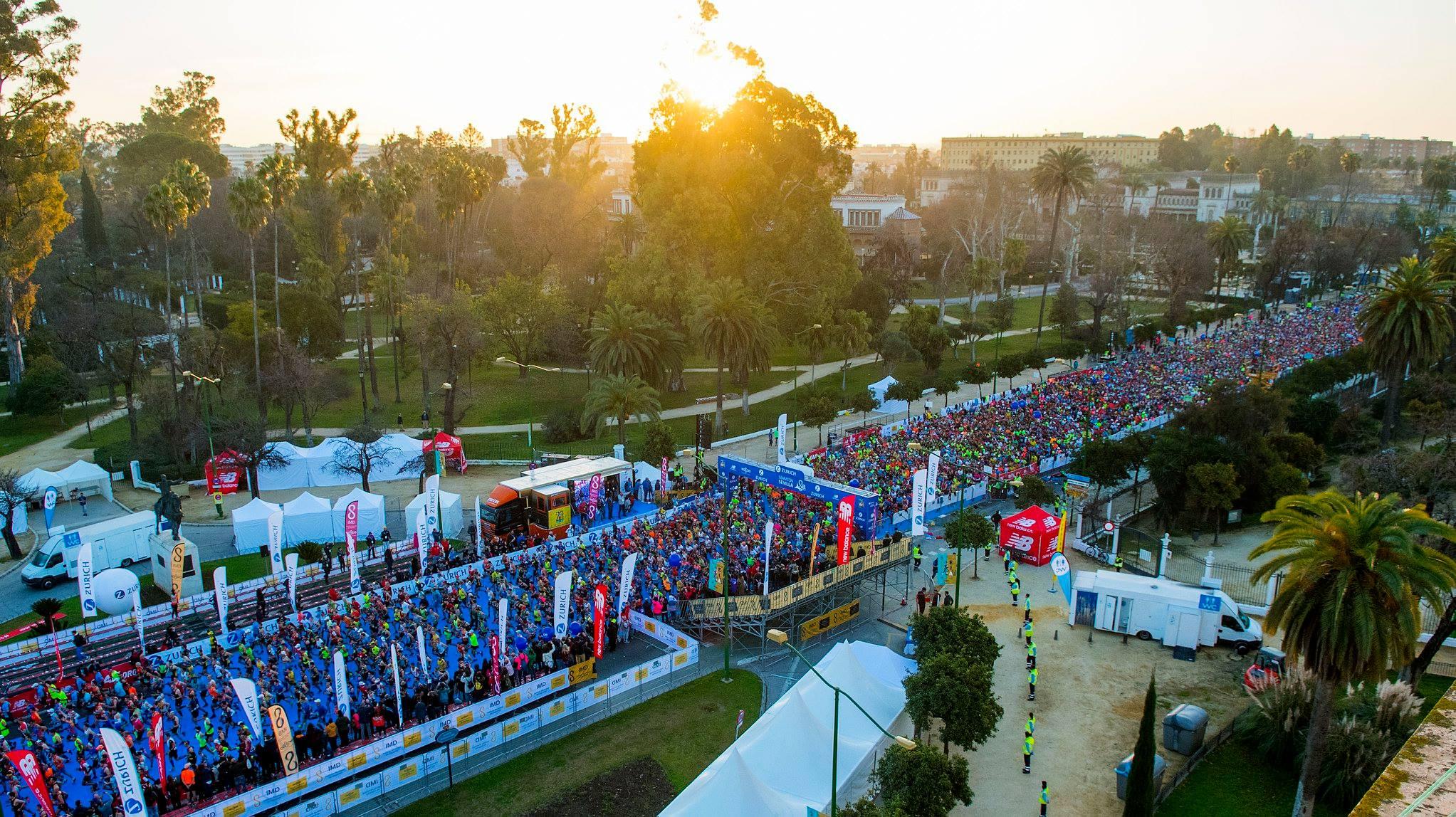 """Un año mas hemos tenido una  grandísima representación en el """"XXXV Zurich Maratón de Sevilla 2019"""""""