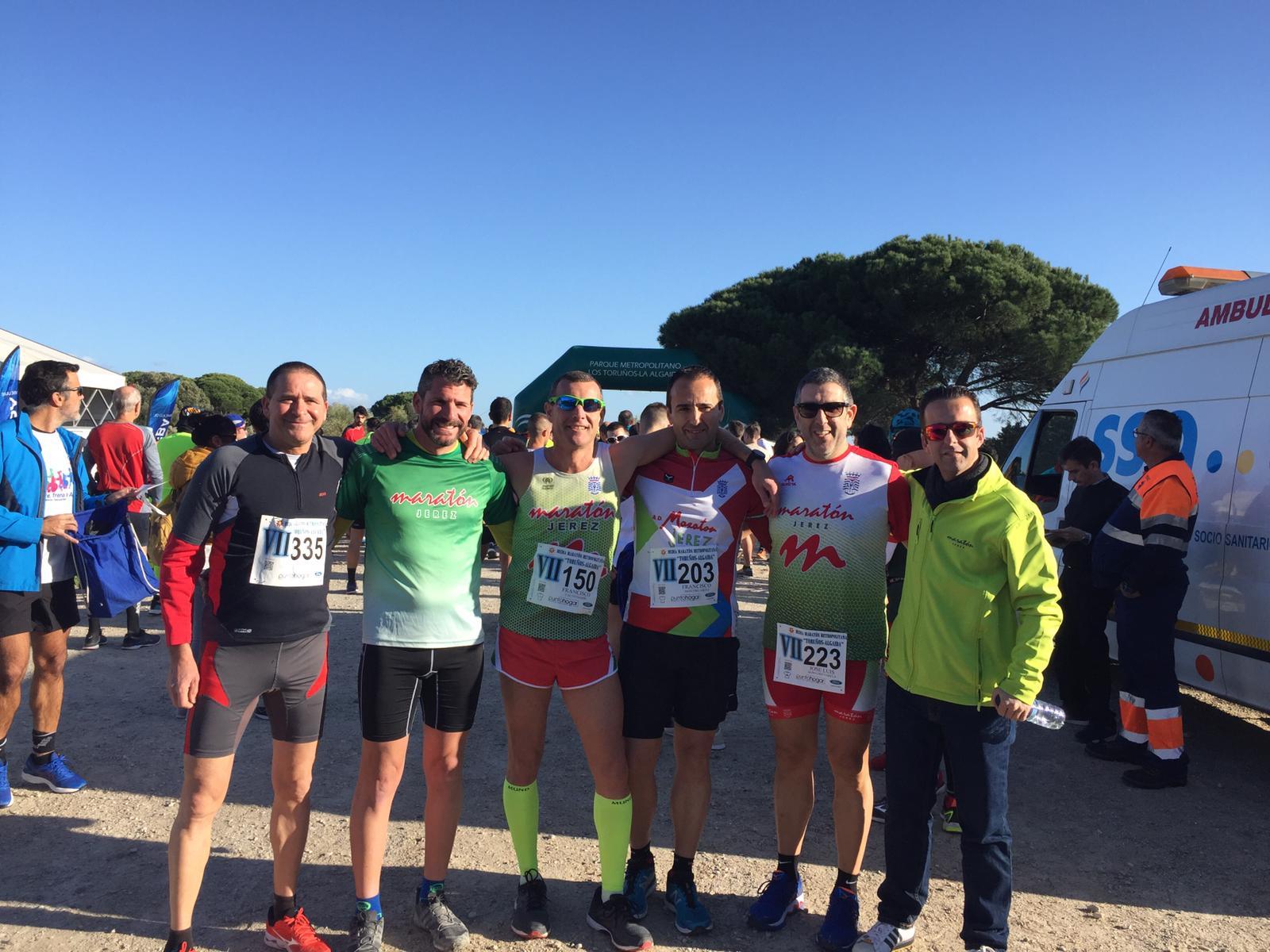 Muy buena carrera de nuestros compañeros en la «VII Media Maratón Los Toruños-Algaida»