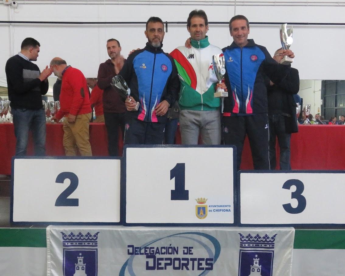 Antonio Armario «Vencedor» en la categoría M/50 y Juan Sánchez «5º» M/70 en la «XV Carrera Popular La Reyerta»