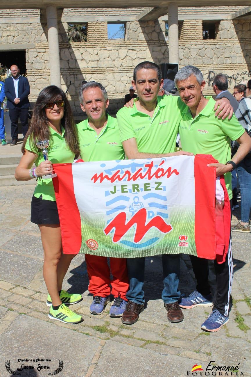 Excelentes resultados con 4 pódiums en la XXXIX Carrera Popular 28F Día de Andalucía en Chipiona