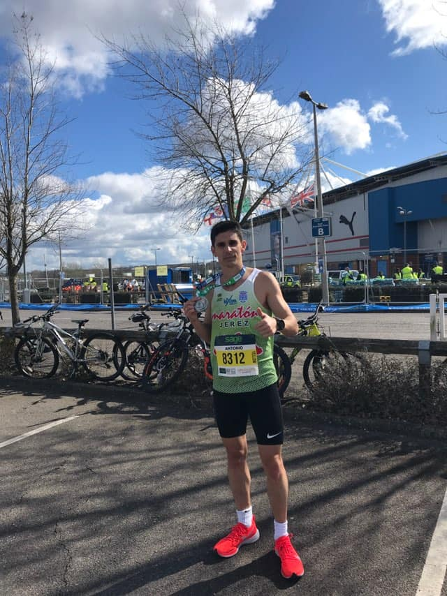 "Excelente Antonio Martin Romero 01:11:33h en el ""Reading Half Marathon"" celebrado en Inglaterra"