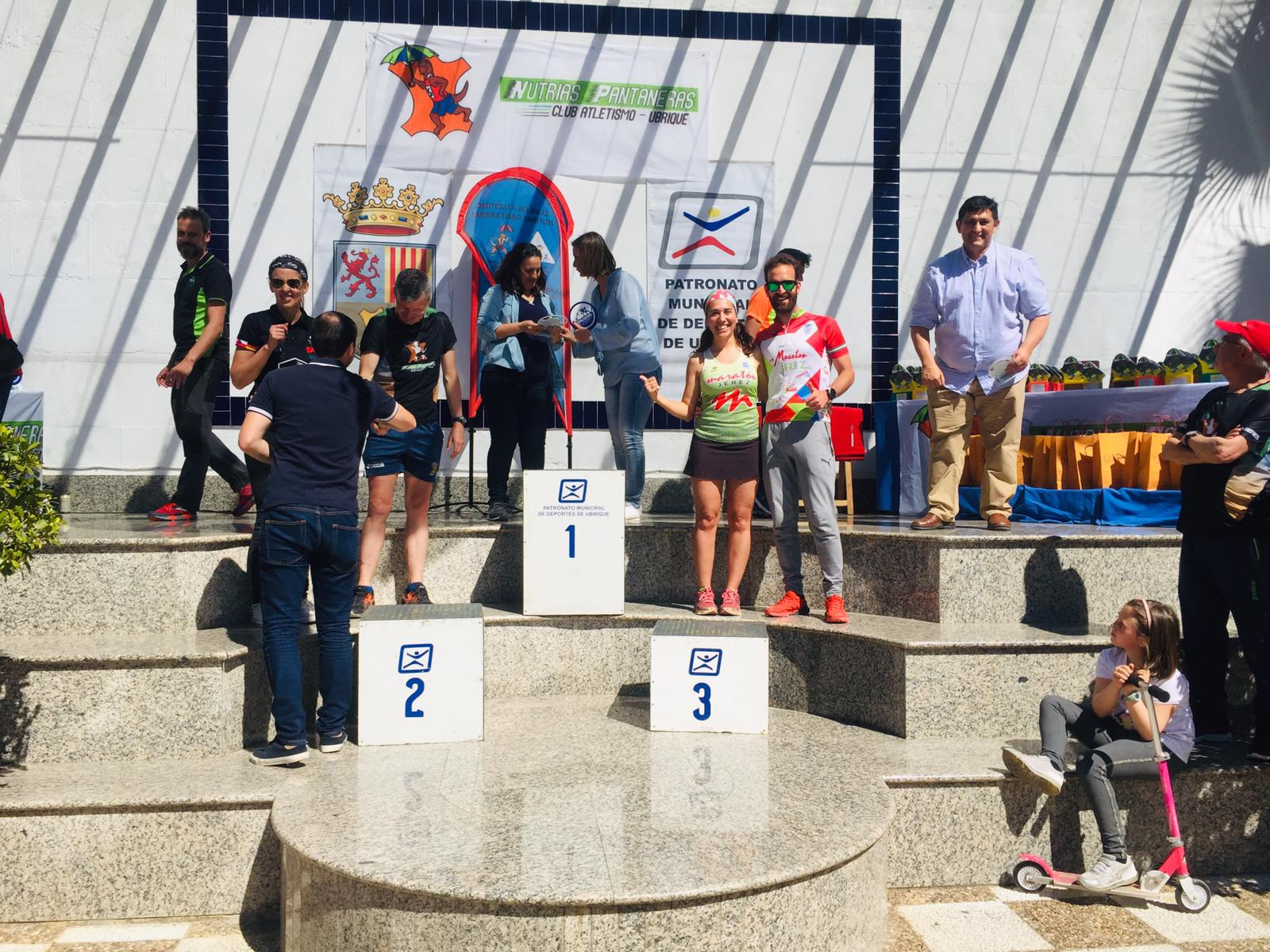Éxitos de Raquel Galisteo «2ª» en la Categoría Veterana y de Laura Pérez y Alberto Martino «3º» en Senior en la «I Copa Gaditana de Montaña»