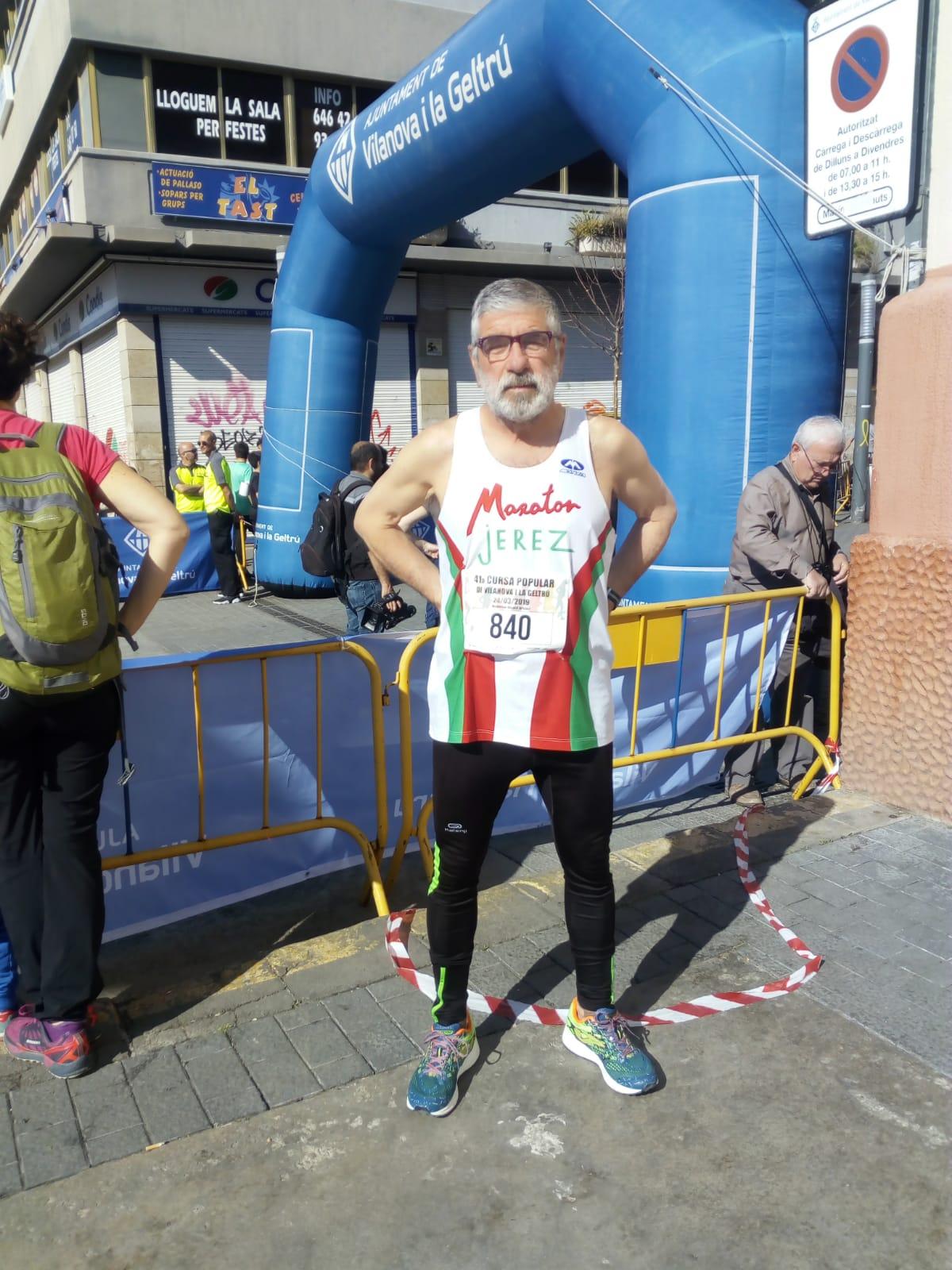 Juan Sanchez participo en la «41 Cursa Popular Vilanova I La Geltru»