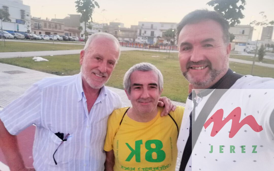Emotivo y gran encuentro con nuestro compañero y amigo Sotito de Jerez.