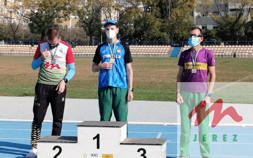 Benito Saura «Subcampeón de Andalucía» en el «II Cto. de Andalucia de Atletismo (FADEC) celebrado en Sevilla