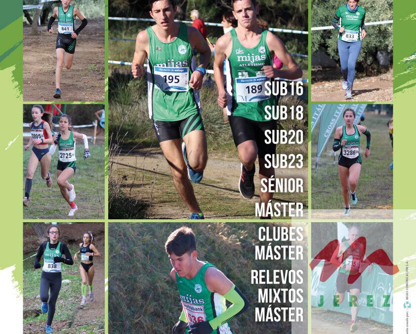Atletas del Maratón Jerez participaran este fin de semana en el Cto. de Andalucía de Campo a Través en Mijas.