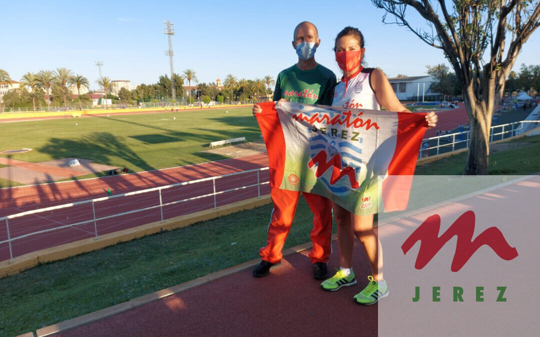 Excelente actuación de los atletas del Maratón Jerez, M. José Valle «Medalla de Bronce», Emilio Lozano «5º» y Benito Saura «5º» en los «Ctos. de Andalucía Master»