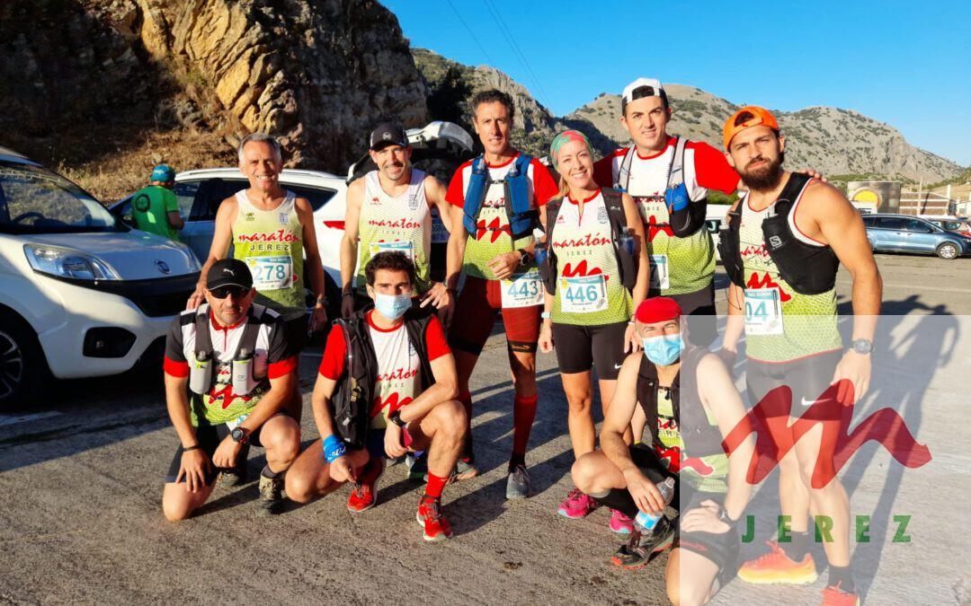 Éxito de los atletas del Maraton Jerez este fin de semana en Villaluenga del Rosario y Chiclana .